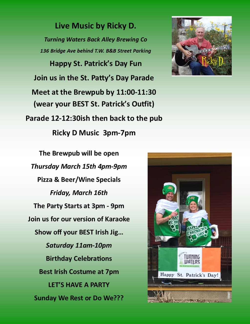 Hoppy-Girl-Brewing-Wabasha-MN-Craftbeer-St-Patricks-Day-Event